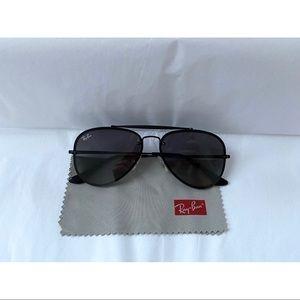 Ray-Ban Blaze Aviator Sunglasses w/case and cloth